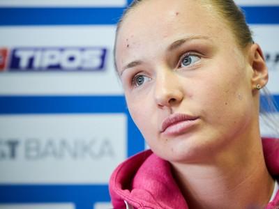 Tenistka Rebecca Šramková počas