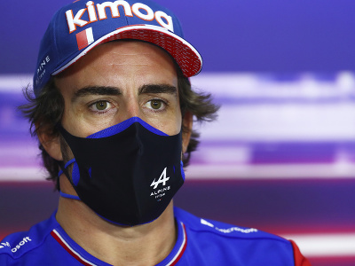 Španielsky pilot F1 Fernando