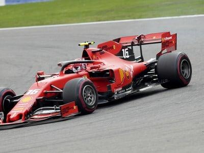Monačan Charles Leclerc na Ferrari
