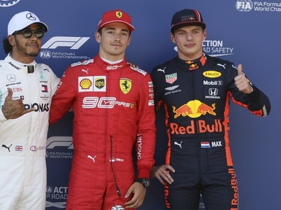 Prvá trojka v kvalifikácii