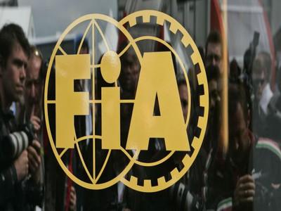 FIA, logo, máj 2009