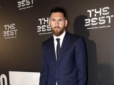 Na snímke argentínsky futbalista