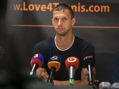 Filip Polášek na tlačovej konferencii po návrate z Australian Open 2020