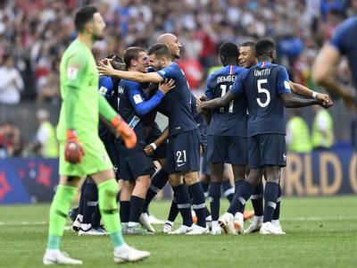 Radosť Francúzov, sklamanie Chorvátska