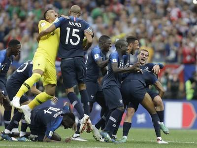 Víťazné oslavy Francúzska