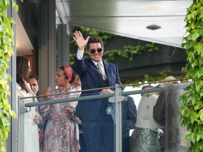 Tom Cruise na wimbledonskom