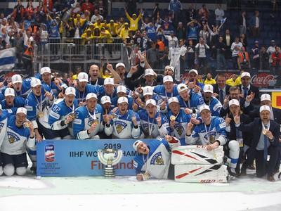 Fínske oslavy titulu majstrov
