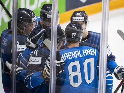 Radosť hokejistov Fínska
