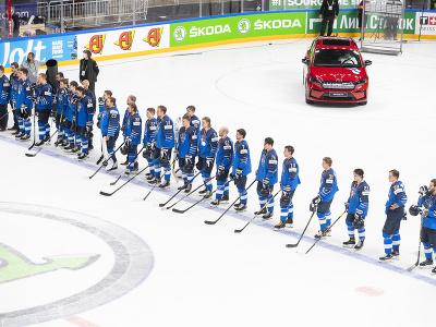 Sklamaní hokejisti Fínska po prehratom finále