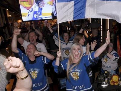 Fínske oslavy titulu v