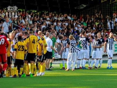 Momentka zo zápasu medzi Interom a Petržalkou