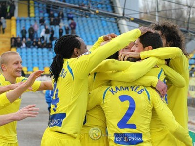 Hráči FK Rostov