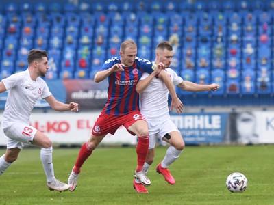 Momentka zo zápasu FK Senica a ŠKF Sereď