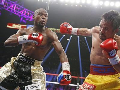 Manny Pacquiao a Floyd