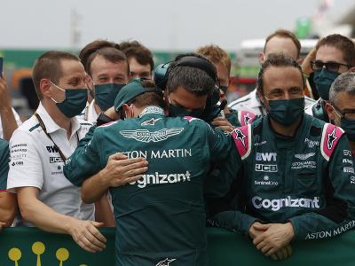 Sebastian Vettel s tímom