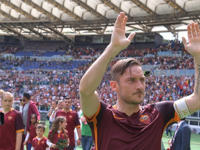 Legendárny Francesco Totti