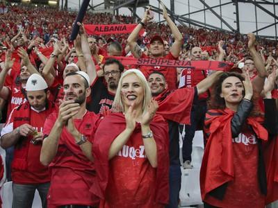Fanúšikovia Albánska