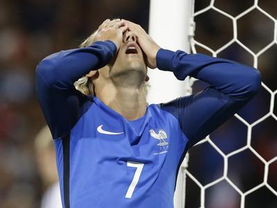 Antoine Griezmann po nepremenenej