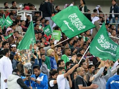Fanúšikovia Saudskej Arábie