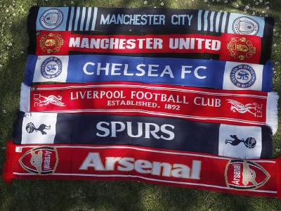Priaznivci Arsenalu, United a