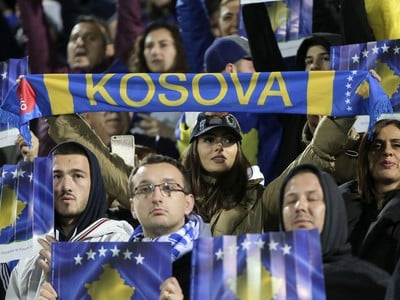 Fanúšikovia Kosova
