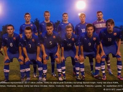 Slovenská sedemnástka na turnaji