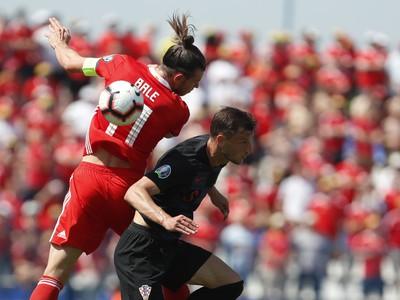 Gareth Bale a Borna Barisič