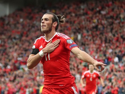 Gareth Bale a jeho gólové oslavy
