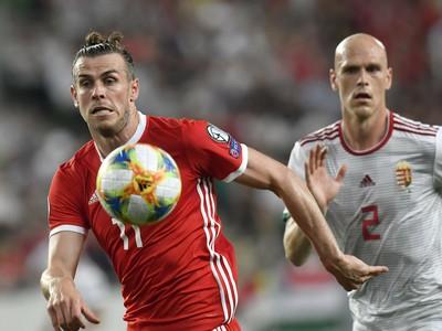 Gareth Bale a Botond Barath