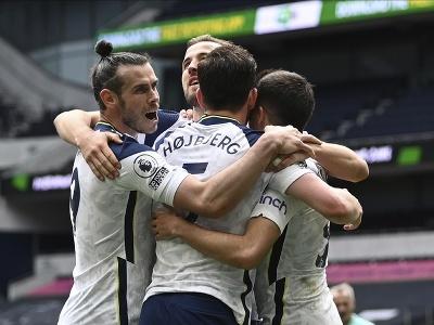 Radosť futbalistov Tottenhamu