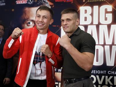 Kazašský profesionálny boxer Gennadij