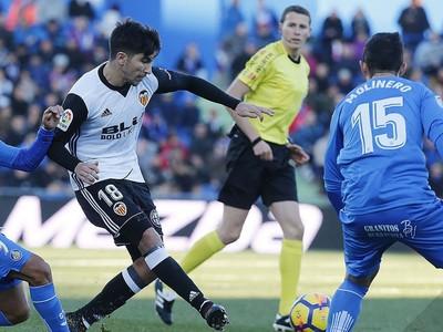 Valencia nečakane podľahla Getafe