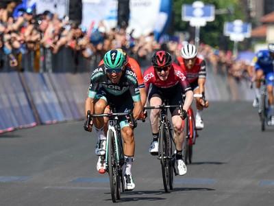 Cesare Benedetti víťazom 12. etapy na Gire