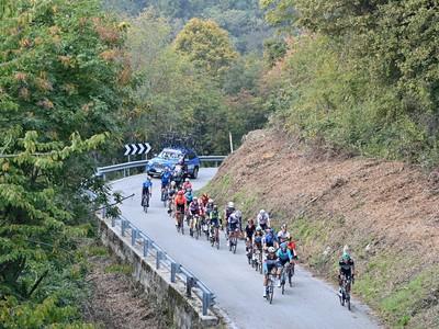 Cyklisti počas 16. etapy
