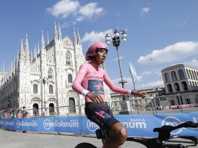 Egan Bernal víťazom Giro d'Italia