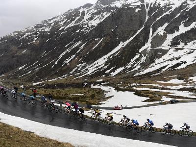 Cyklisti v 20. etape Giro d'Italia