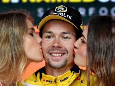 Slovinský cyklista Primož Roglič