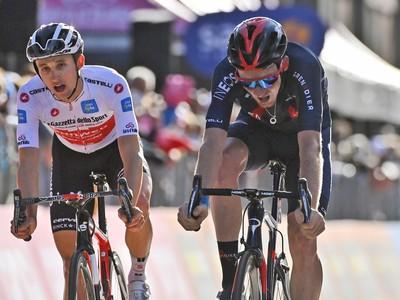 Britský cyklista Tao Geoghegan