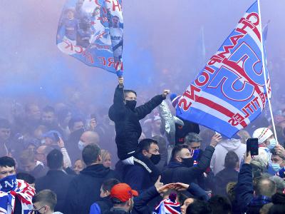 Glasgow Rangers vybojovali po
