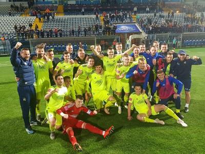 Hráči GNK Dinamo oslavujú