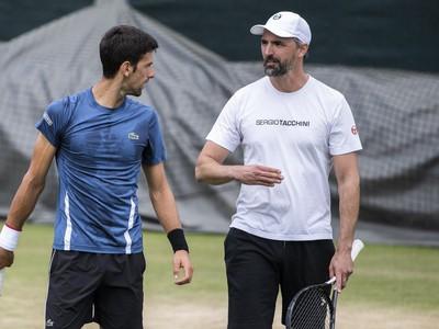 Novak Djokovič a Goran