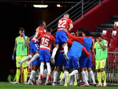 Radosť futbalistov Granady