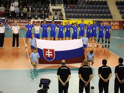 Slovenskí volejbalisti pred duelom