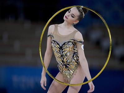 Ruská gymnastka Dina Averinová