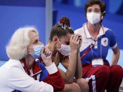 Sklamaná ruská gymnastka Dina