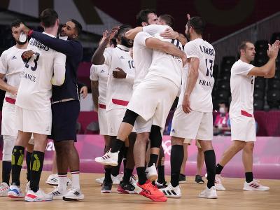 Francúzski hádzanári si štvrtýkrát za sebou zahrajú finále na olympijských hrách