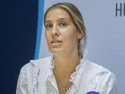 Na snímke delegátka EHF Maike Bouwerová