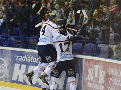Radosť hráčov HC Košice