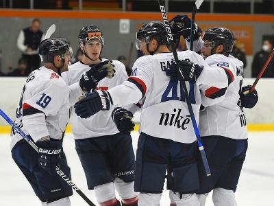 Hokejisti HC Slovan Bratislava