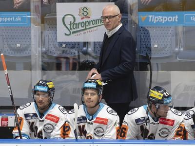 Tréner Košíc Peter Draisaitl